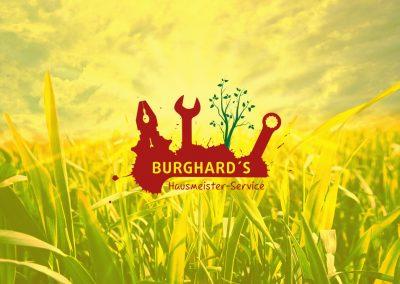 Logo für Burghard's Hausmeister-Service