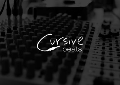 Logo für Cursive Beats